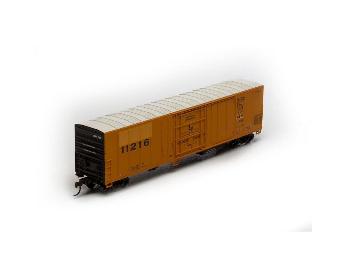 Athearn HO RTR 57' Mechanical Reefer, GB&W #11216