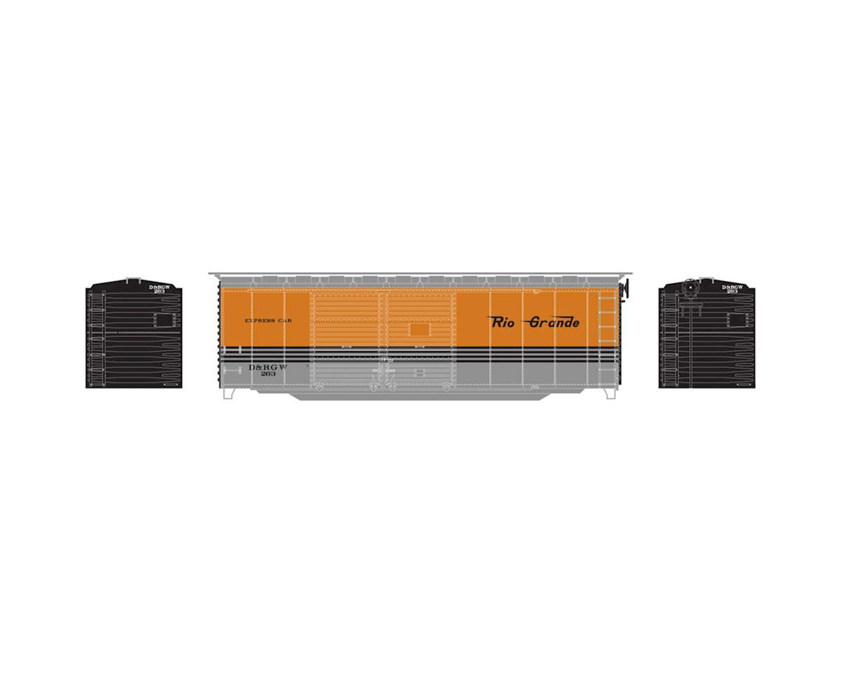 HO RTR 40' Express Box, D&RGW #263 by Athearn