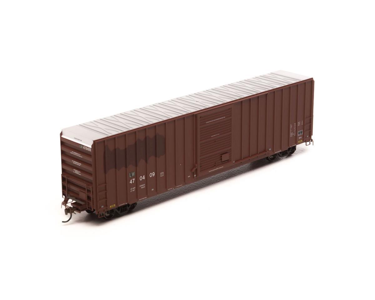 Athearn HO RTR FMC 60' Hi-Cube EP Box, L&W/Brown #470409