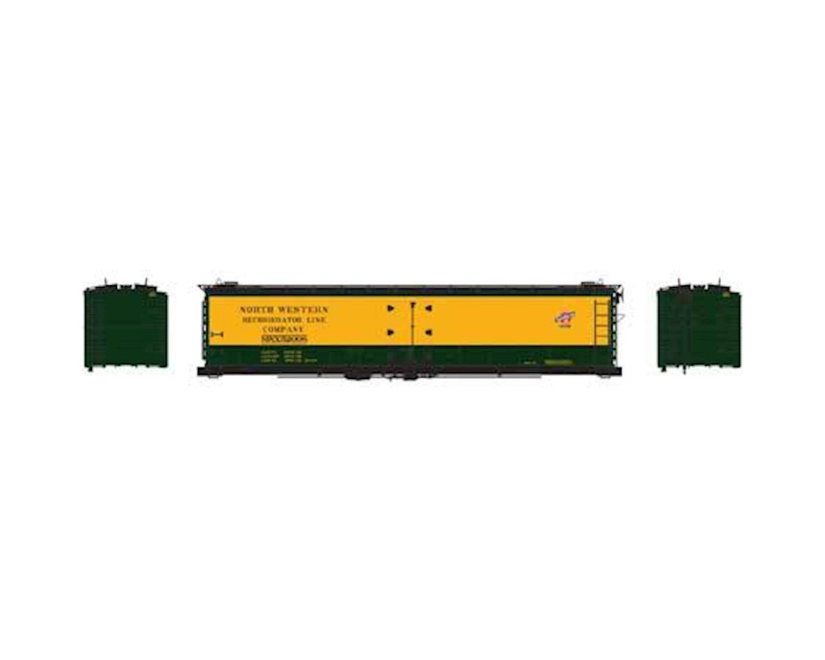 Athearn N 50' Ice Bunker Reefer, C&NW #52008