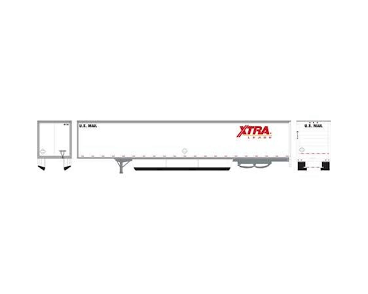 Athearn HO RTR 53' Wabash Duraplate Trailer, XTRA #M138