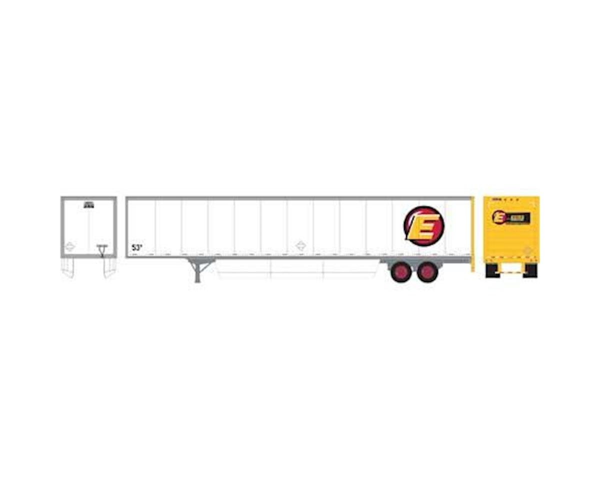 Athearn HO RTR 53' Wabash Duraplate Trailer, Estes #53271 | relatedproducts