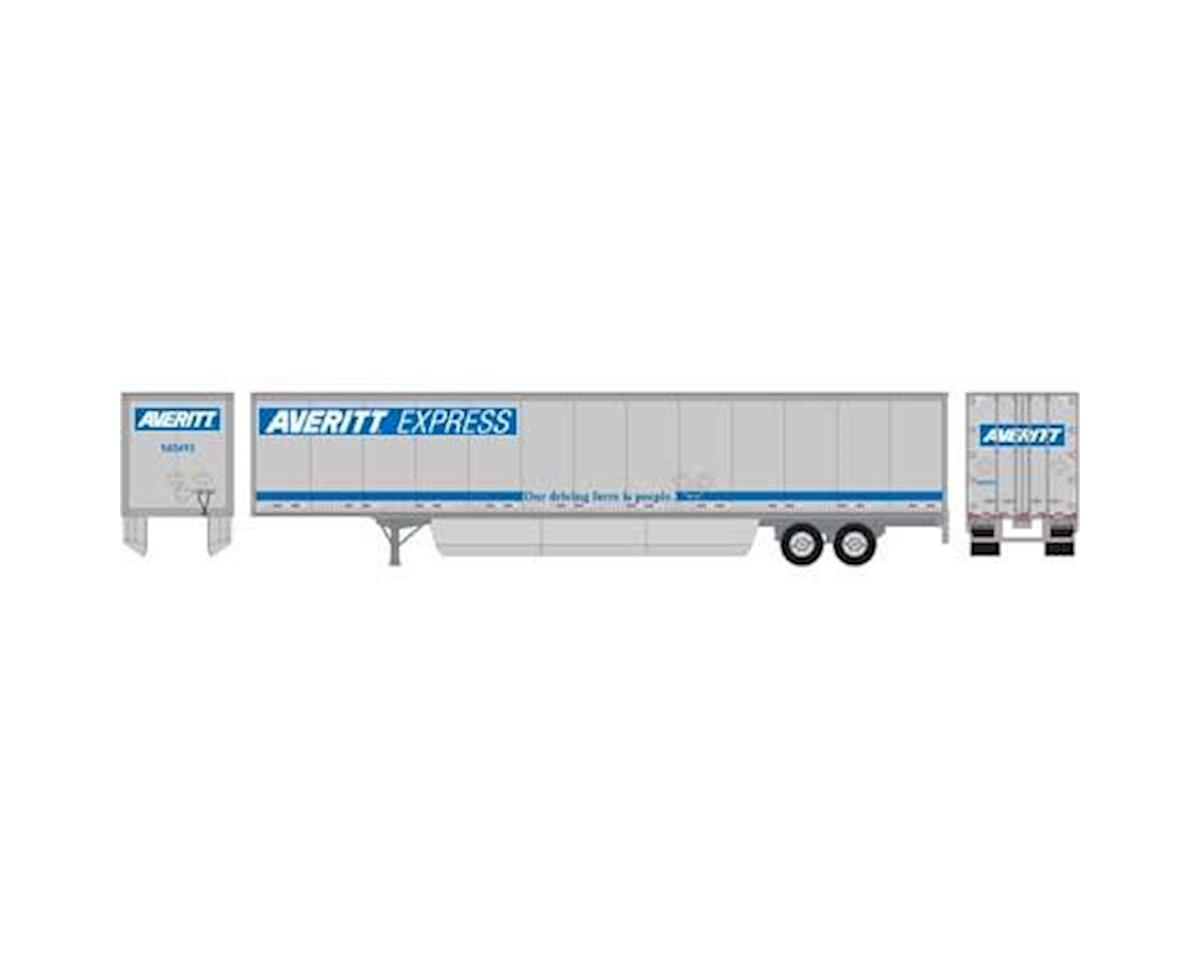 Athearn HO RTR 53' Wabash Duraplate Trailer,Averitt#540493 | relatedproducts