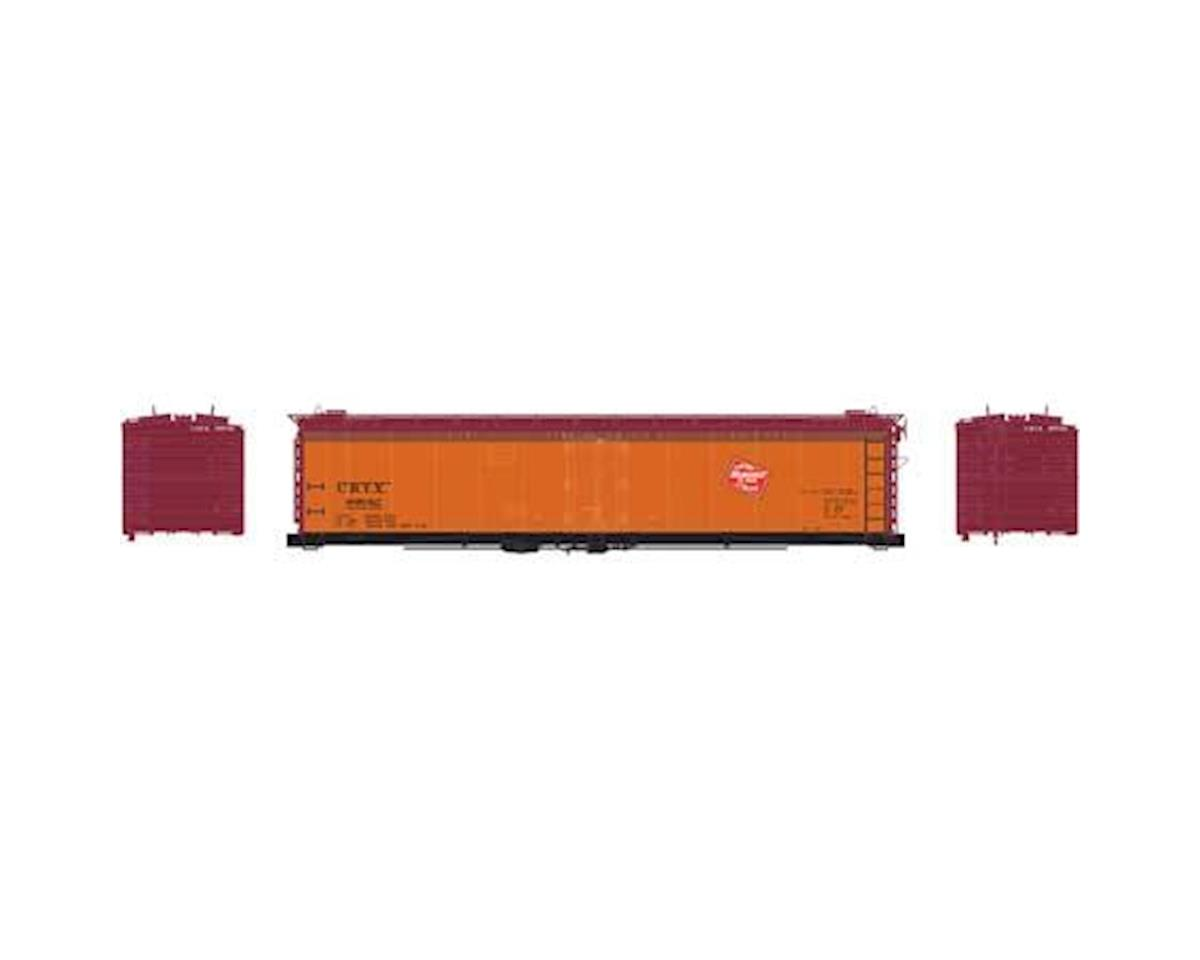 Athearn N 50' Ice Bunker Reefer, MILW #89042