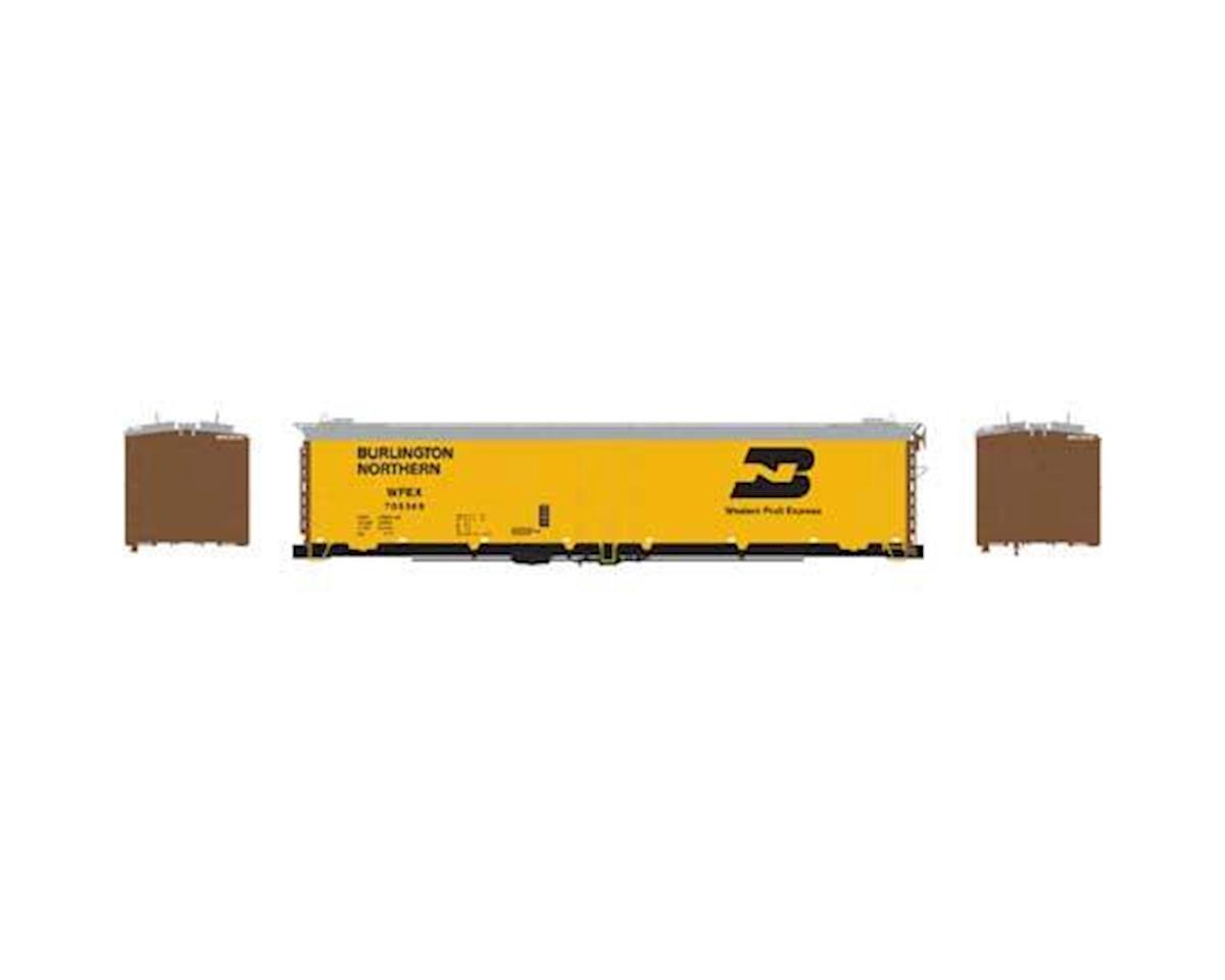 Athearn N 50' Ice Bunker Reefer, WFE/BN #705369