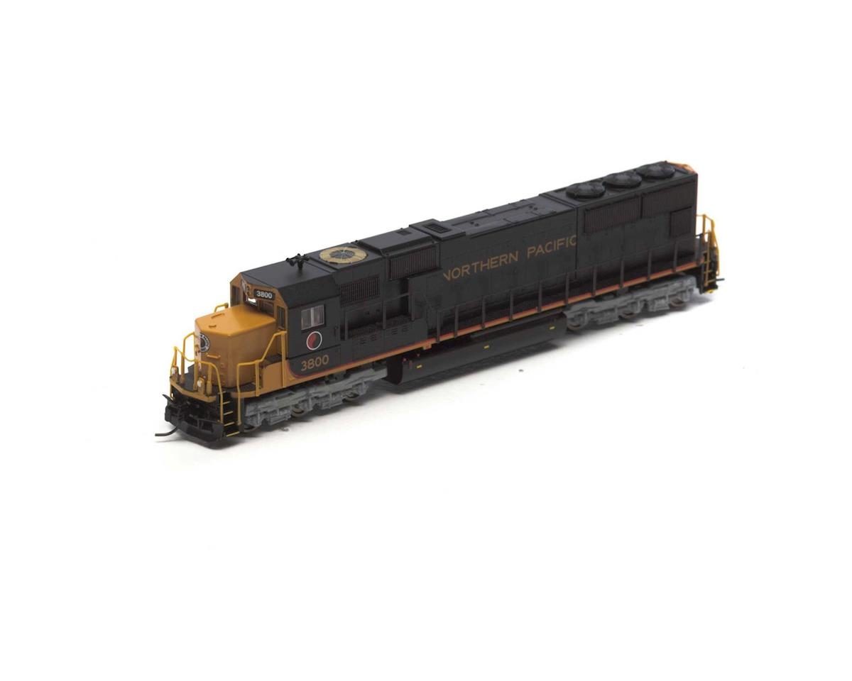 N SD70, NP #3800 by Athearn