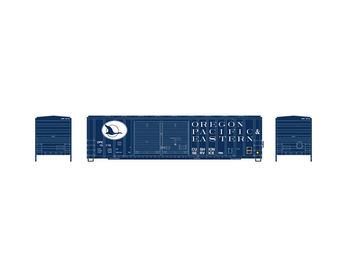 Athearn HO RTR 50' FMC Offset Double Door Box, OP&E #15110