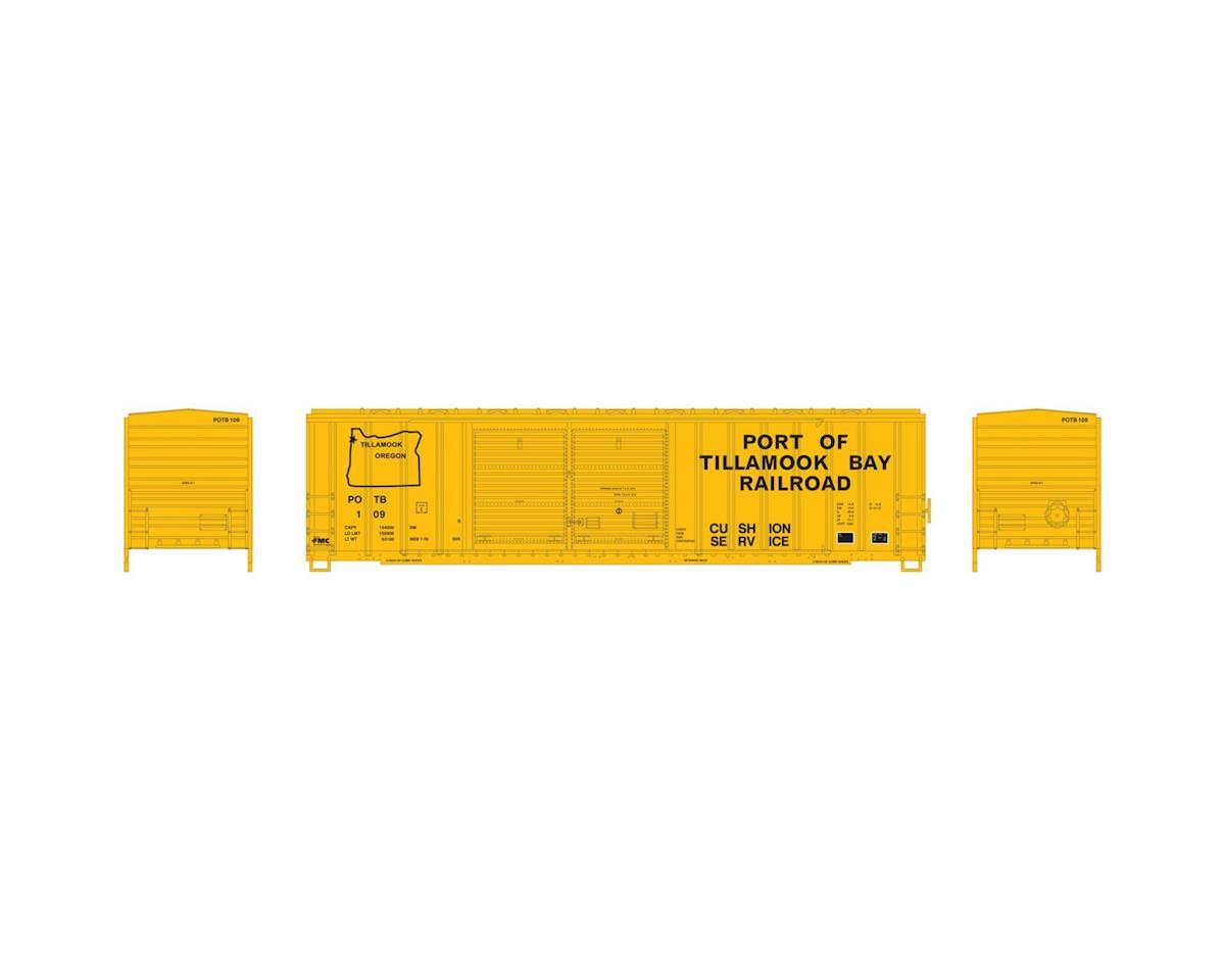 Athearn HO RTR 50' FMC Offset Double Door Box, POTB #109