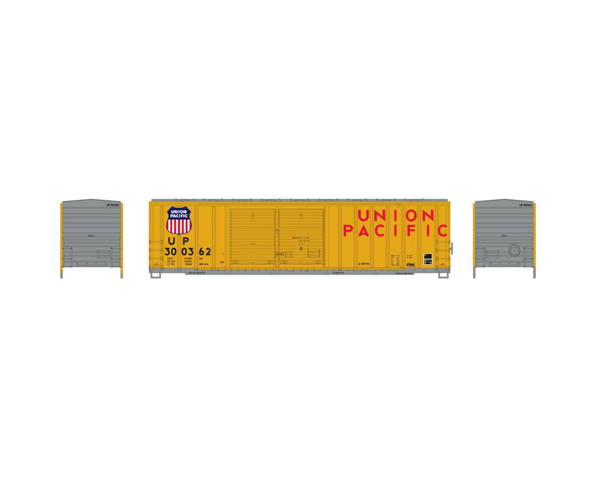 Athearn HO RTR 50' FMC Offset Double Door Box, UP #300362