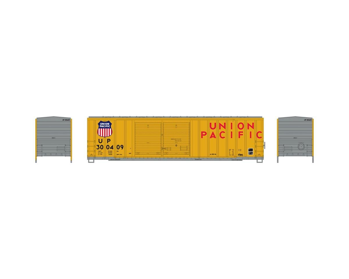 Athearn HO RTR 50' FMC Offset Double Door Box, UP #300409