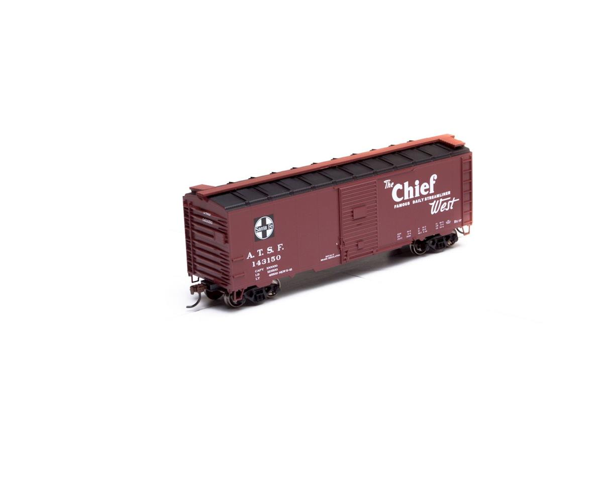 Athearn HO RTR 40' Youngstown Door Box, SF/Chief #143150