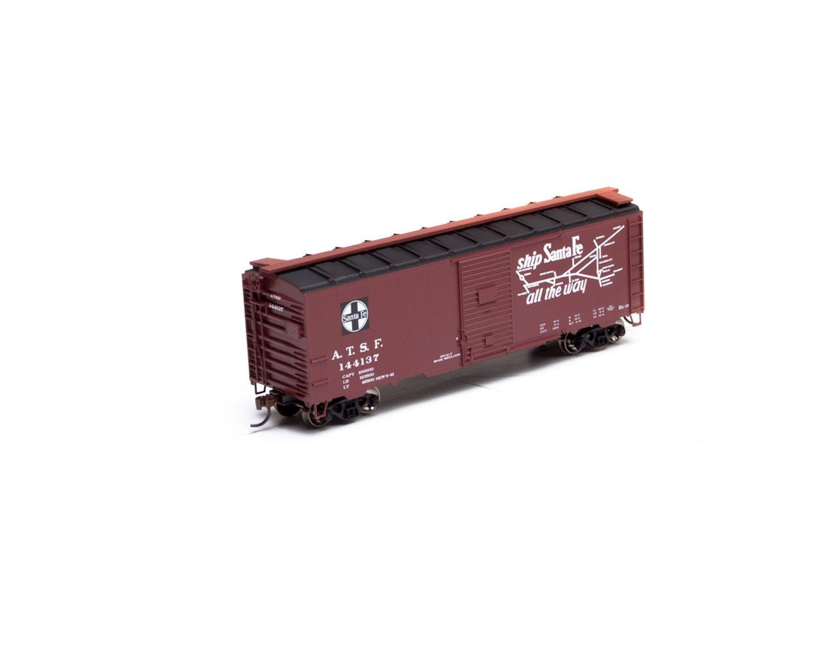 Athearn HO RTR 40' Youngstown Door Box, SF/Chief #144137