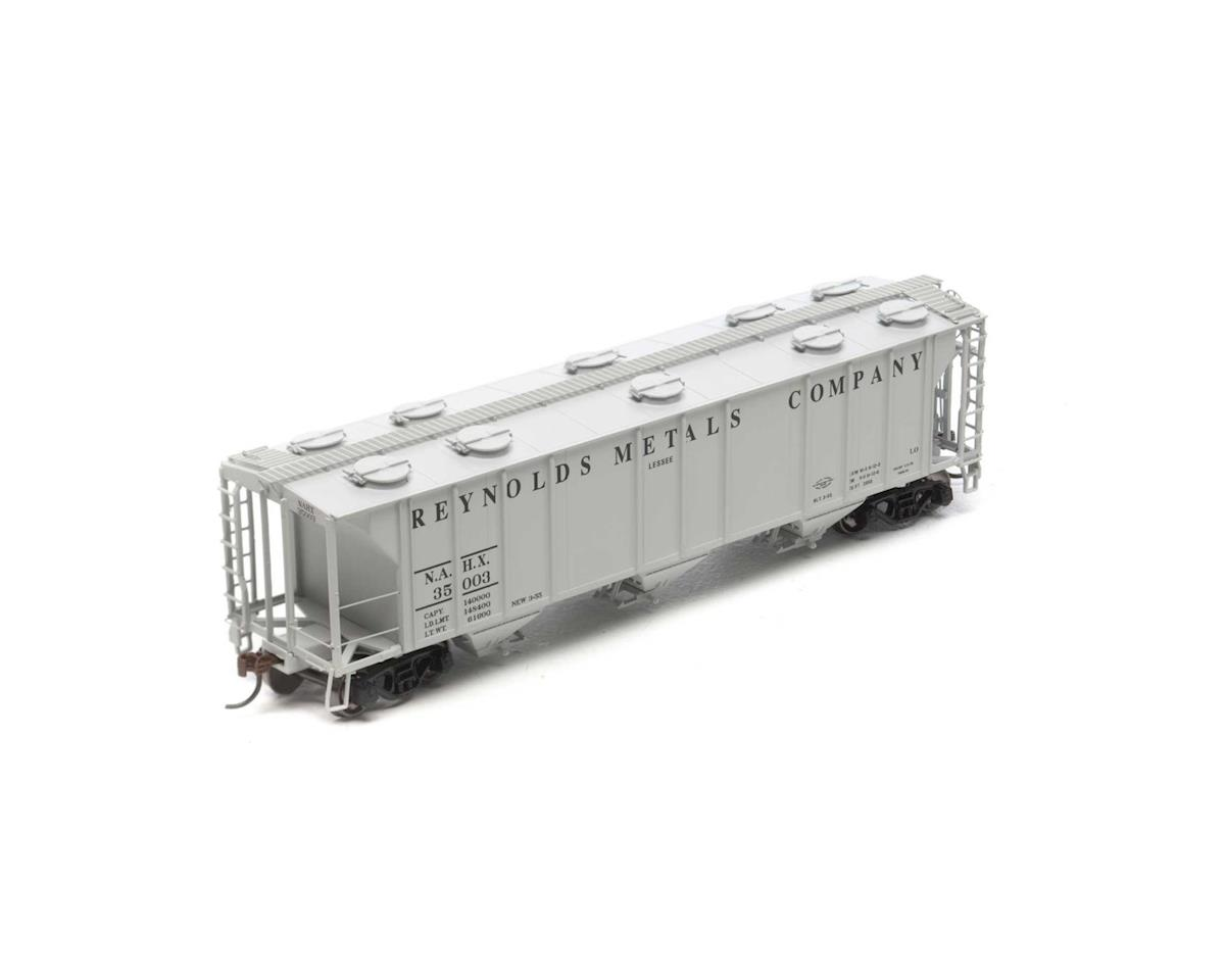 HO RTR PS-2 2893 3-Bay Covered Hopper,NAHX #35003 by Athearn