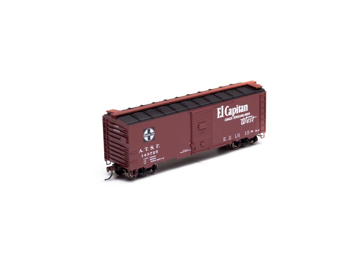 Athearn HO RTR 40' Youngstown Dr Box,SF/El Capitan #143725
