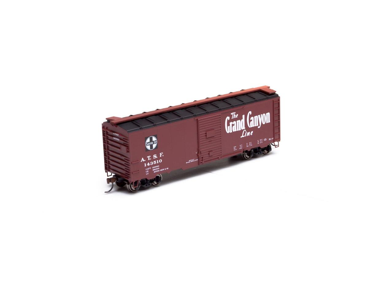 Athearn HO RTR 40' YSD Box, SF/Grand Canyon #143510