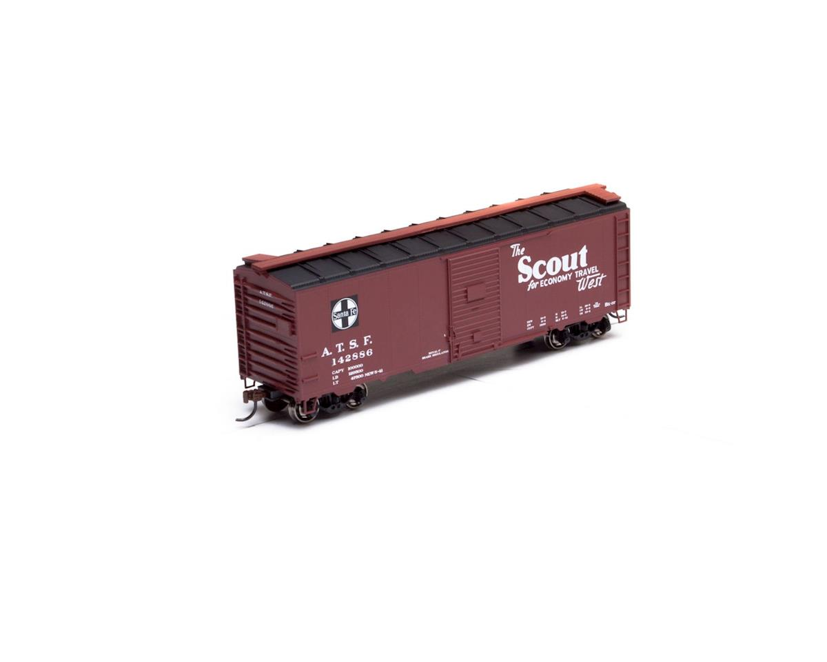 Athearn HO RTR 40' Youngstown Door Box, SF/Scout #143798