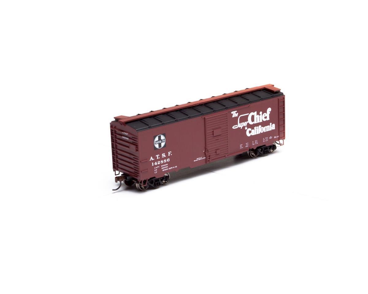 Athearn HO RTR 40' YSD Box, SF/Super Chief #142886
