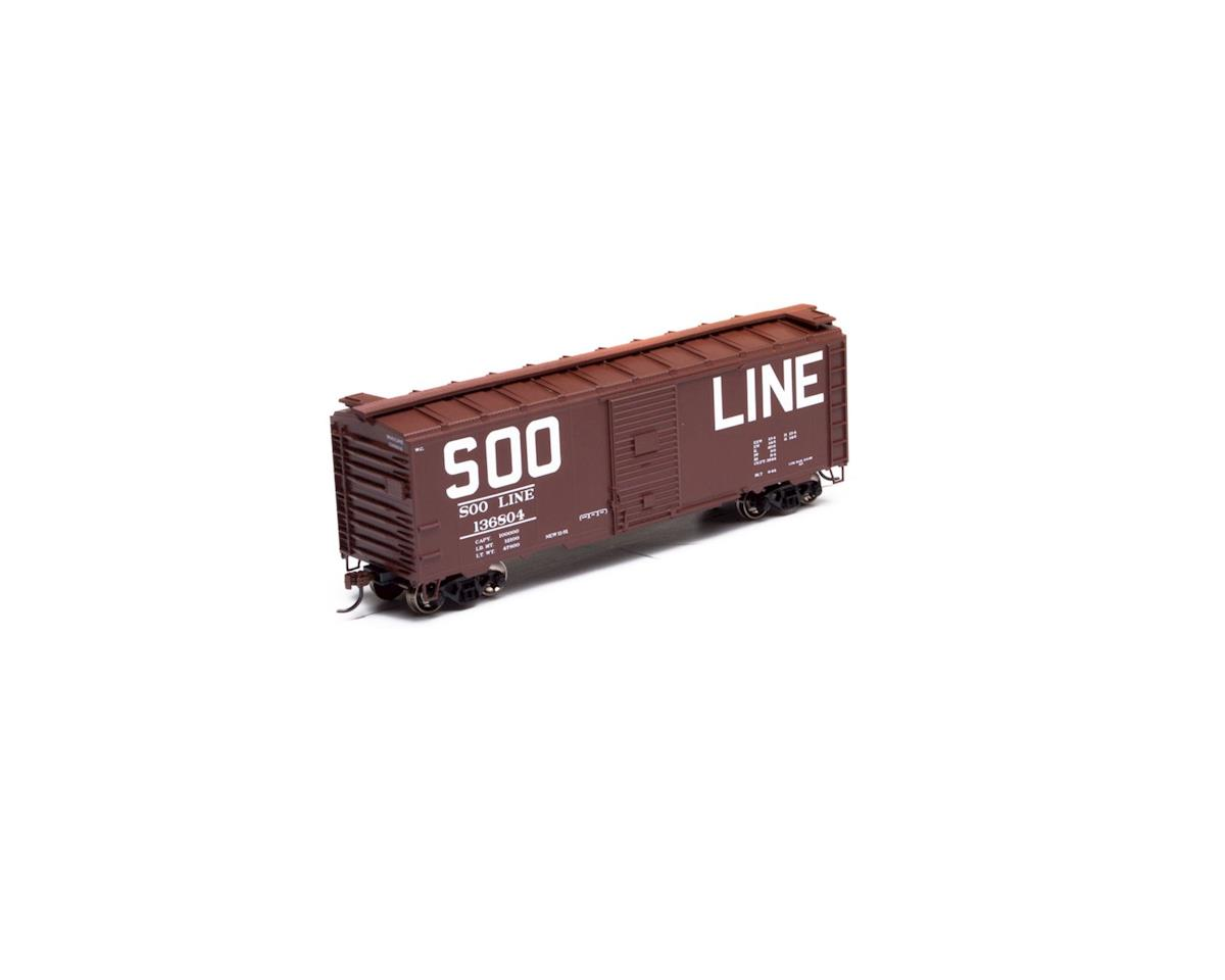 Athearn HO RTR 40' Youngstown Door Box, SOO #136804