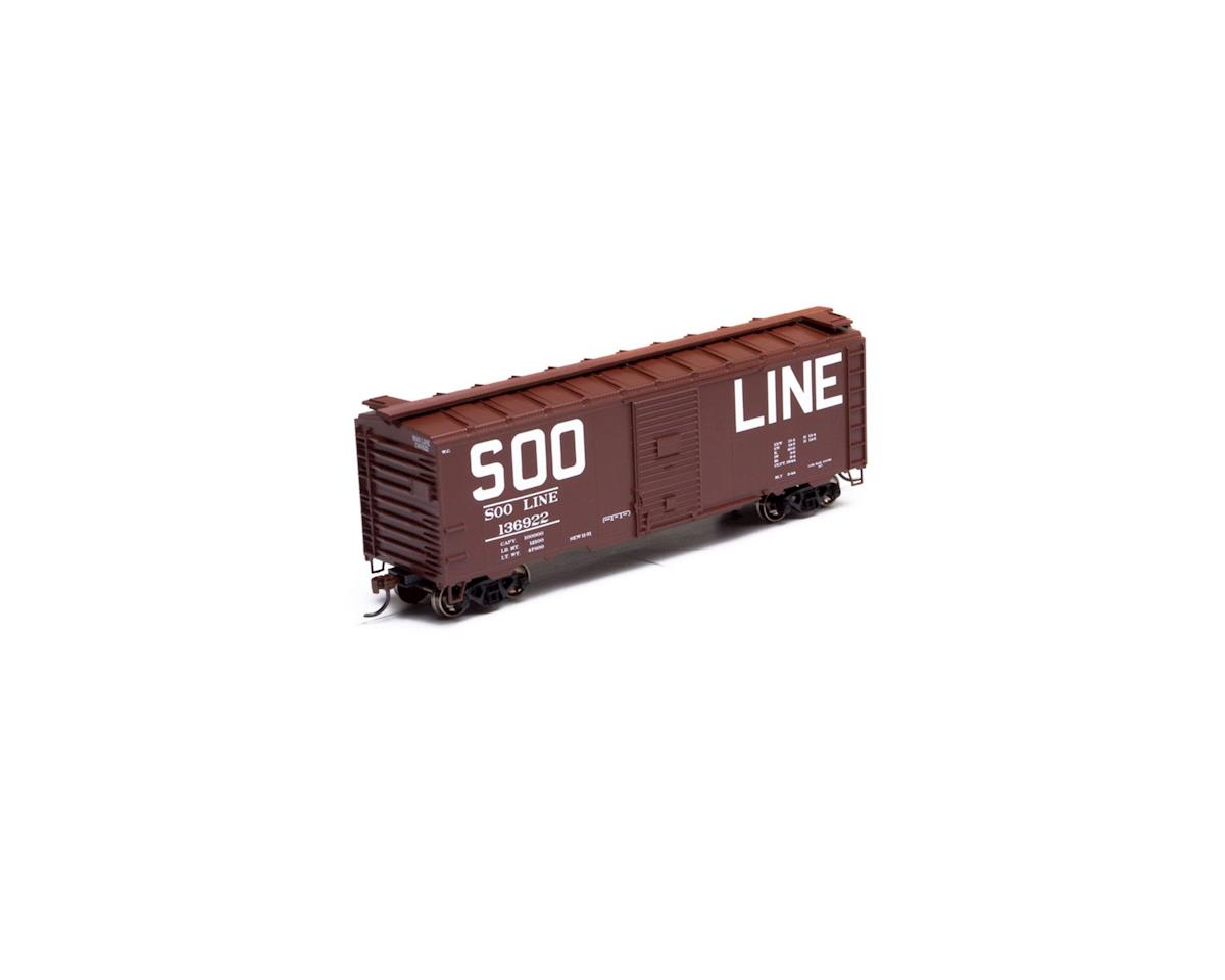 Athearn HO RTR 40' Youngstown Door Box, SOO #136922