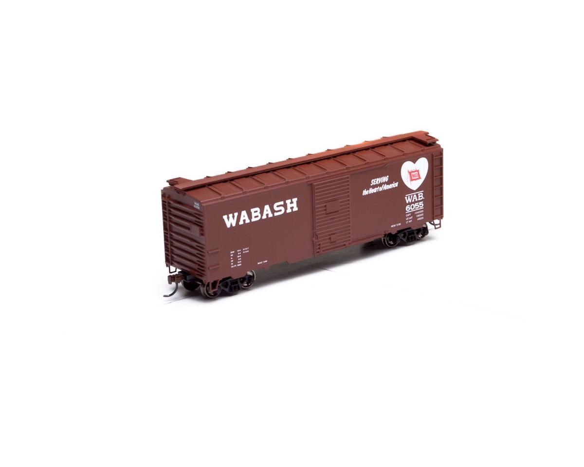 Athearn HO RTR 40' Youngstown Door Box, WAB #6055
