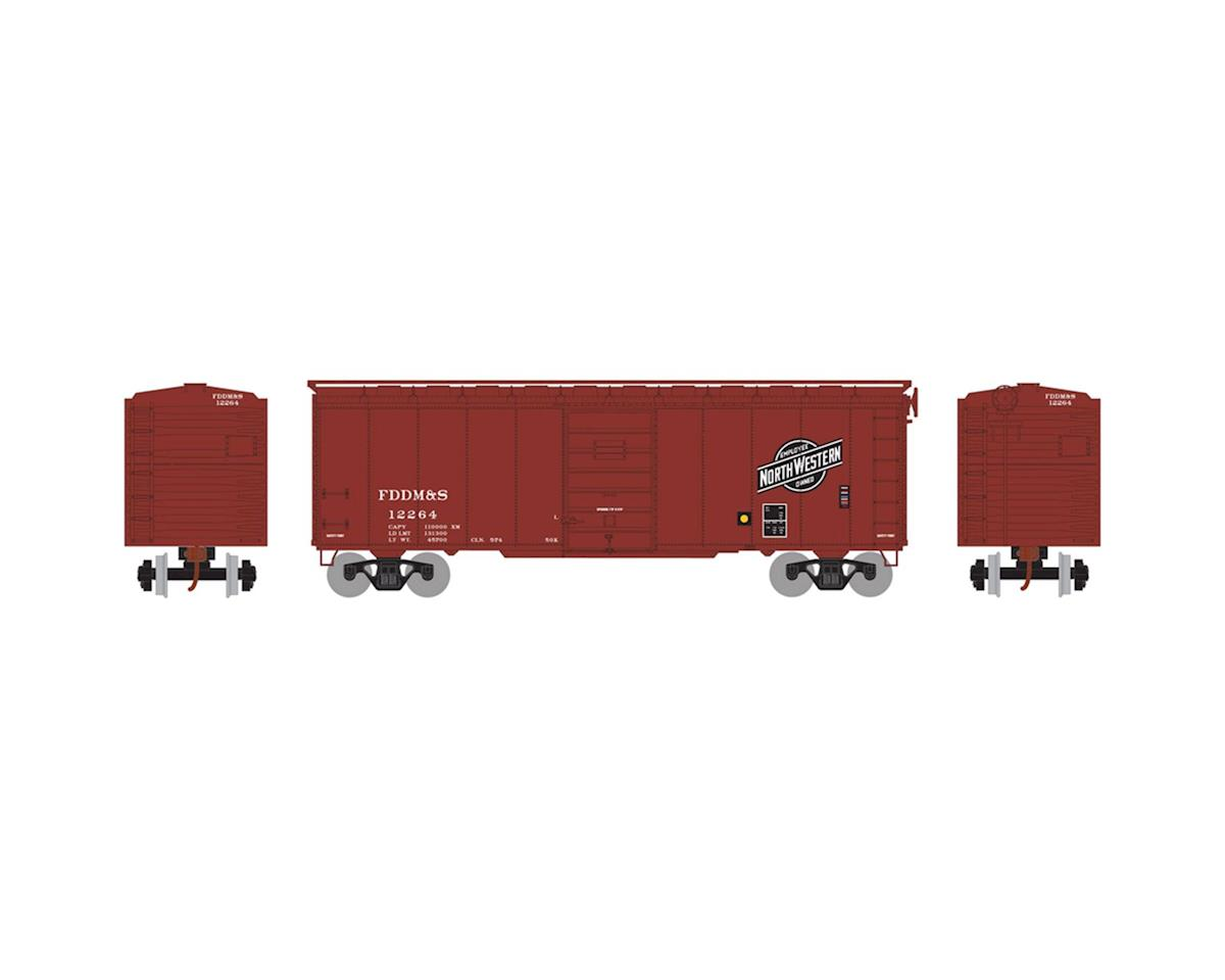 Athearn HO RTR 40' Superior Door Box, C&NW/FDDM&S #12264