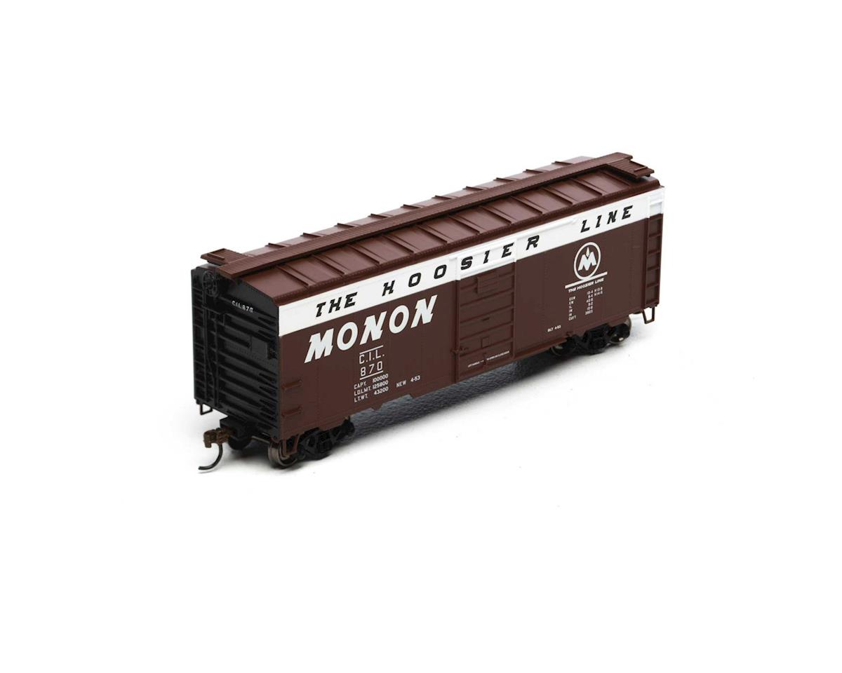Athearn HO RTR 40' Superior Door Box, Monon/CIL #870