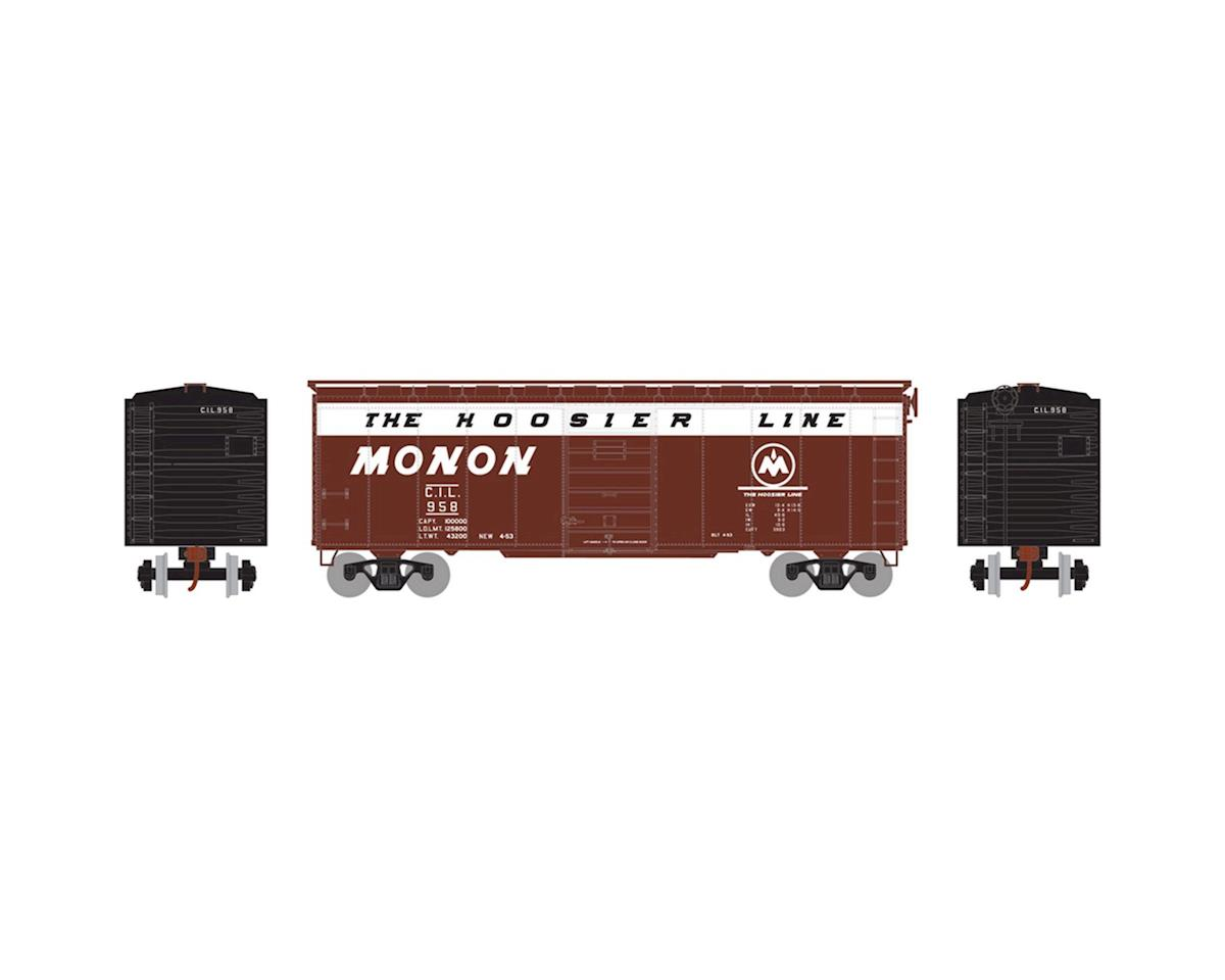 Athearn HO RTR 40' Superior Door Box, Monon/CIL #958