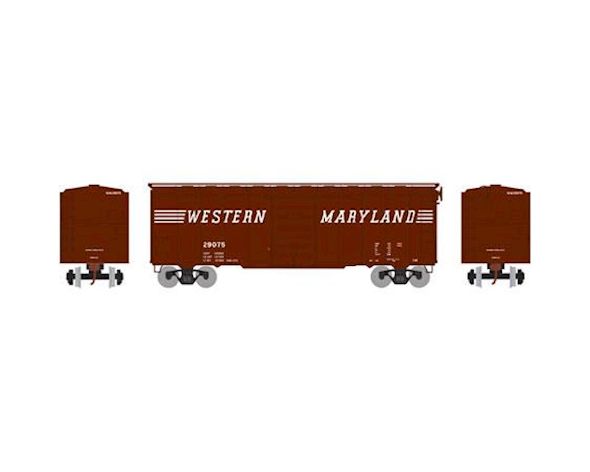 Athearn HO RTR 40' Superior Door Box, WM #29075