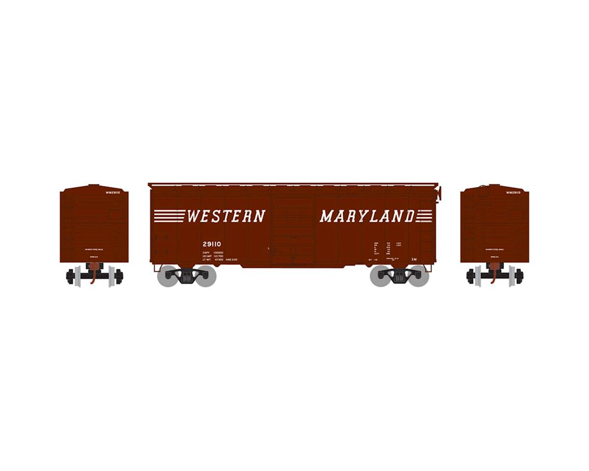 Athearn HO RTR 40' Superior Door Box, WM #29110
