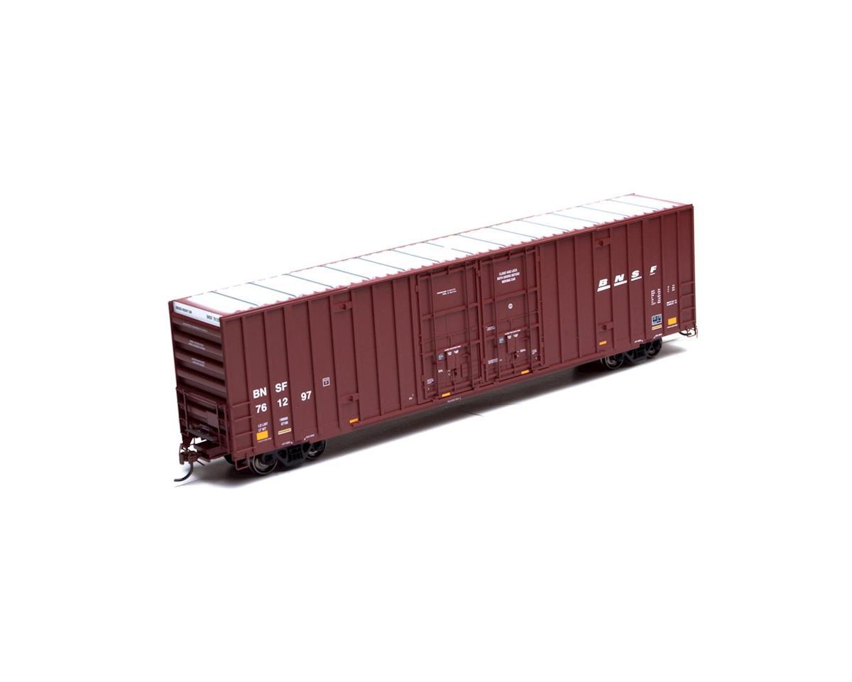 HO RTR 60' Gunderson DD Hi-Cube Box, BNSF #761297 by Athearn