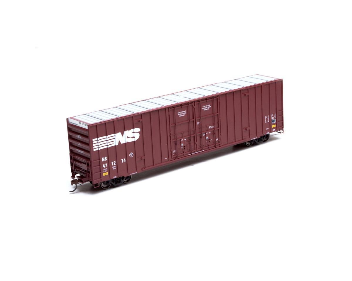HO RTR 60' Gunderson DD Hi-Cube Box, NS #471274 by Athearn