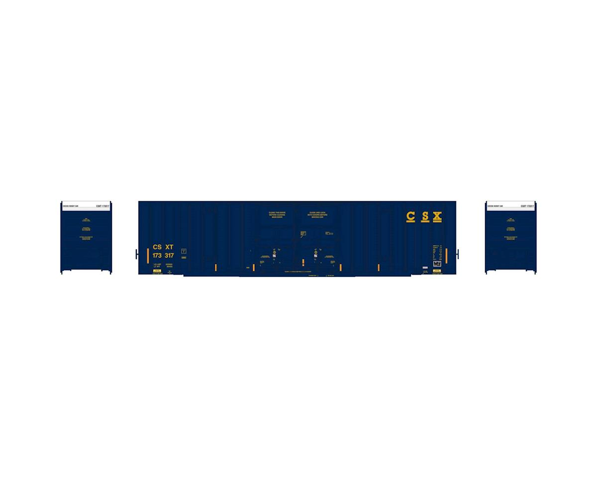 Athearn HO RTR 60' Gunderson DD Hi-Cube Box, CSX #173317