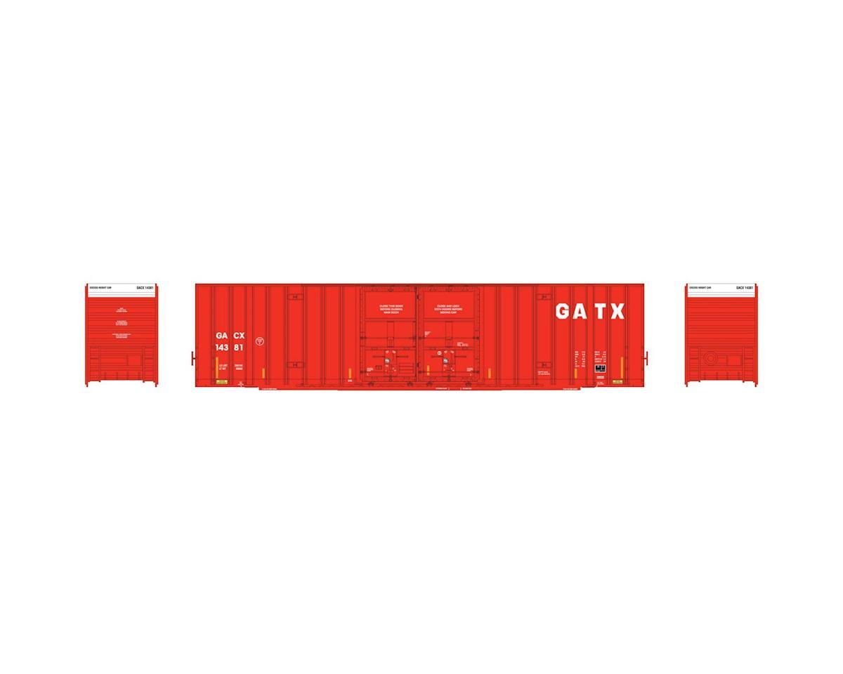 Athearn HO RTR 60' Gunderson DD Hi-Cube Box, GACX #14381
