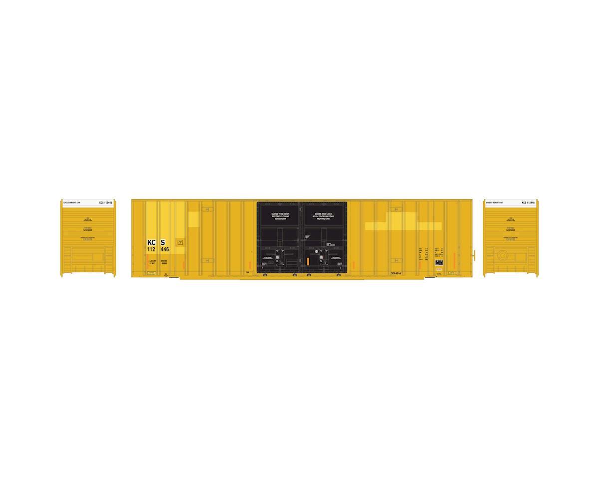 Athearn HO RTR 60' Gunderson DD Hi-Cube Box, KCS #112446