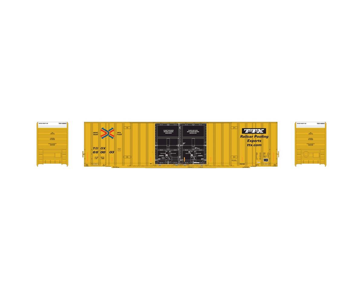 Athearn HO RTR 60' Gunderson DD Hi-Cube Box ,TTX/TBOX #1