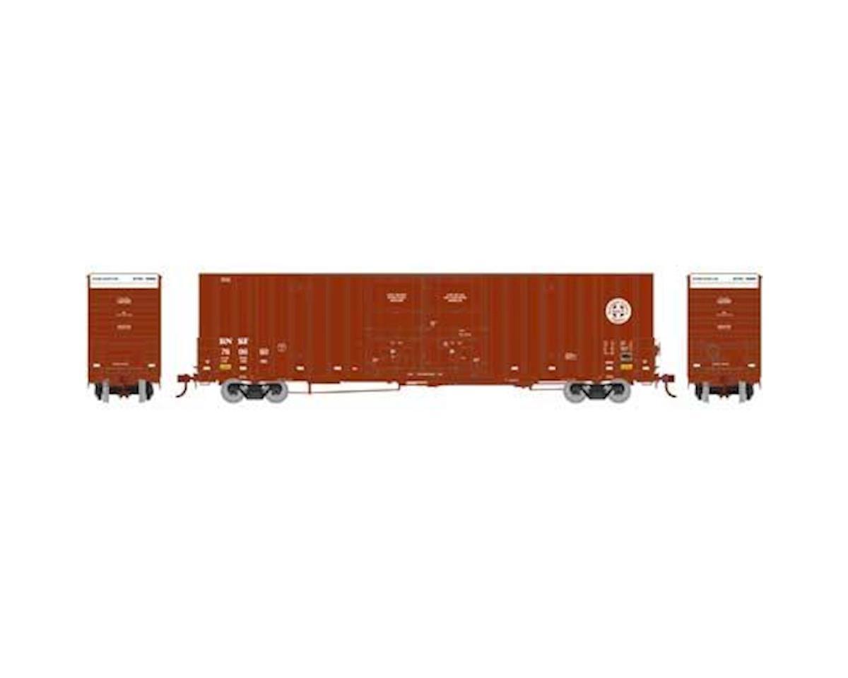 Athearn HO RTR 60' Gunderson DD HC Box, BNSF/Railway #1