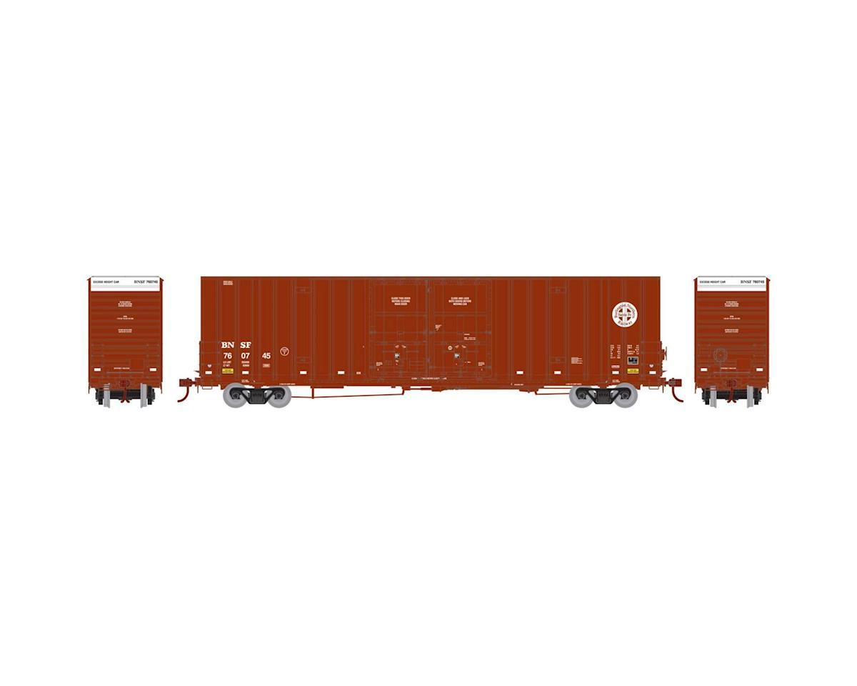 Athearn HO RTR 60' Gunderson DD HC Box, BNSF/Railway #3