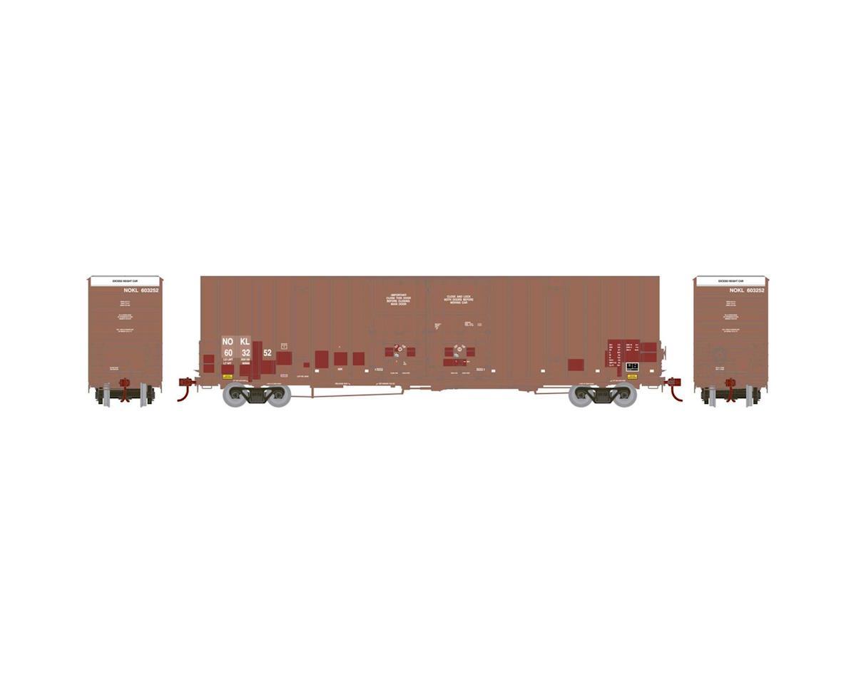 Athearn HO RTR 60' Gunderson DD Hi-Cube Box, NOKL #603252