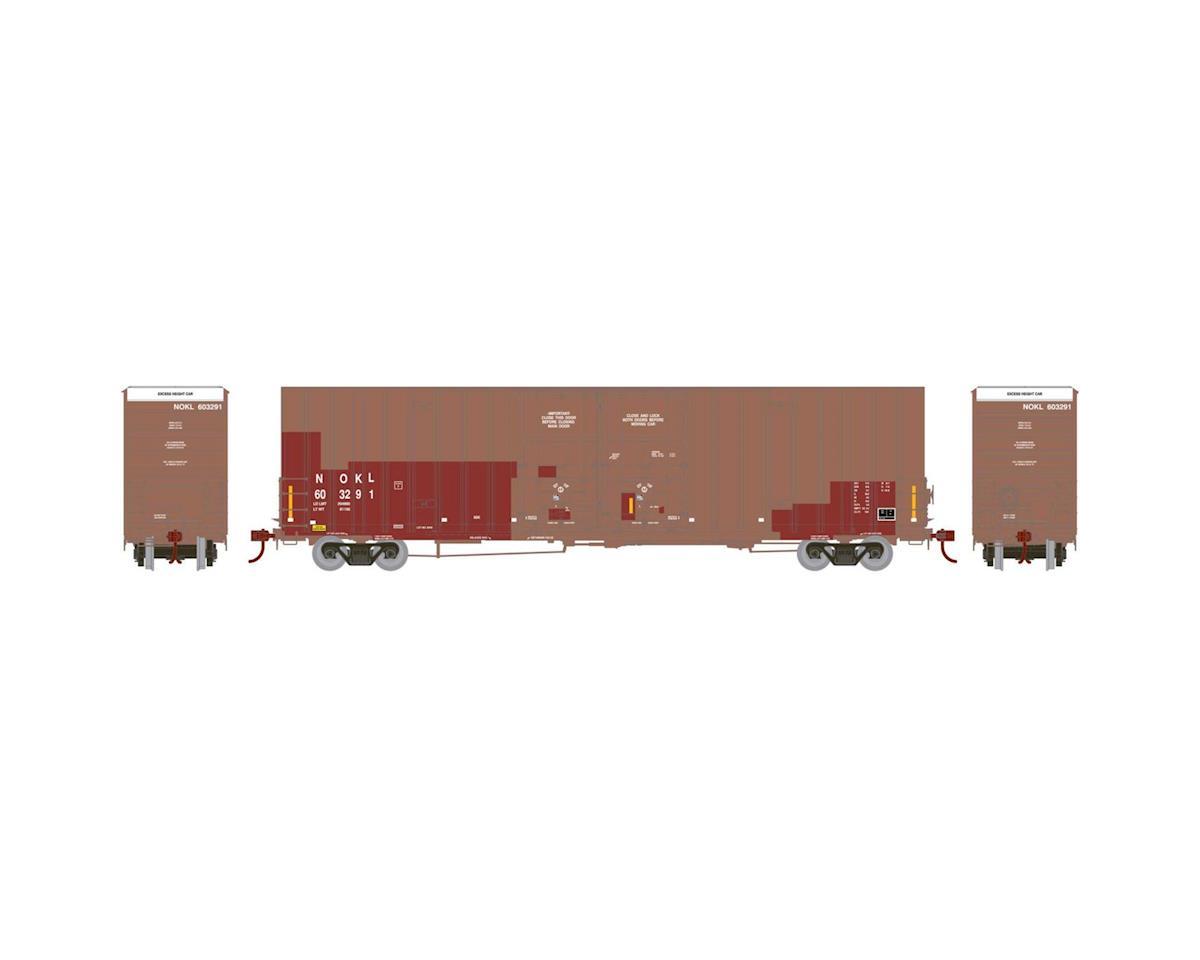 Athearn HO RTR 60' Gunderson DD Hi-Cube Box, NOKL #603291