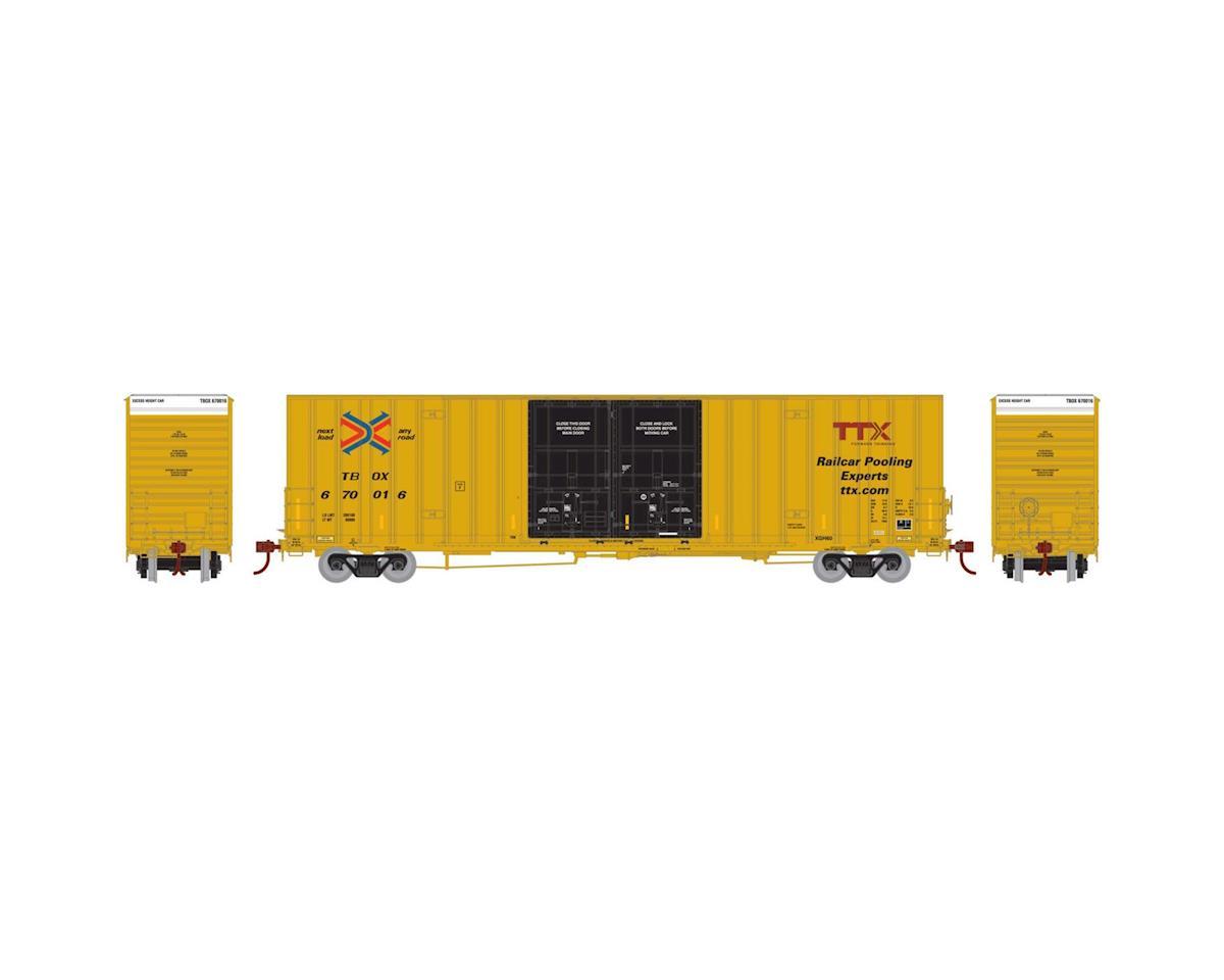 Athearn HO RTR 60' Gunderson DD Hi-Cube Box, RBOX #670016