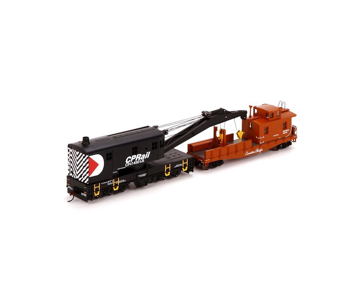 Athearn HO RTR 200-Ton Crane w/Tender, CPR
