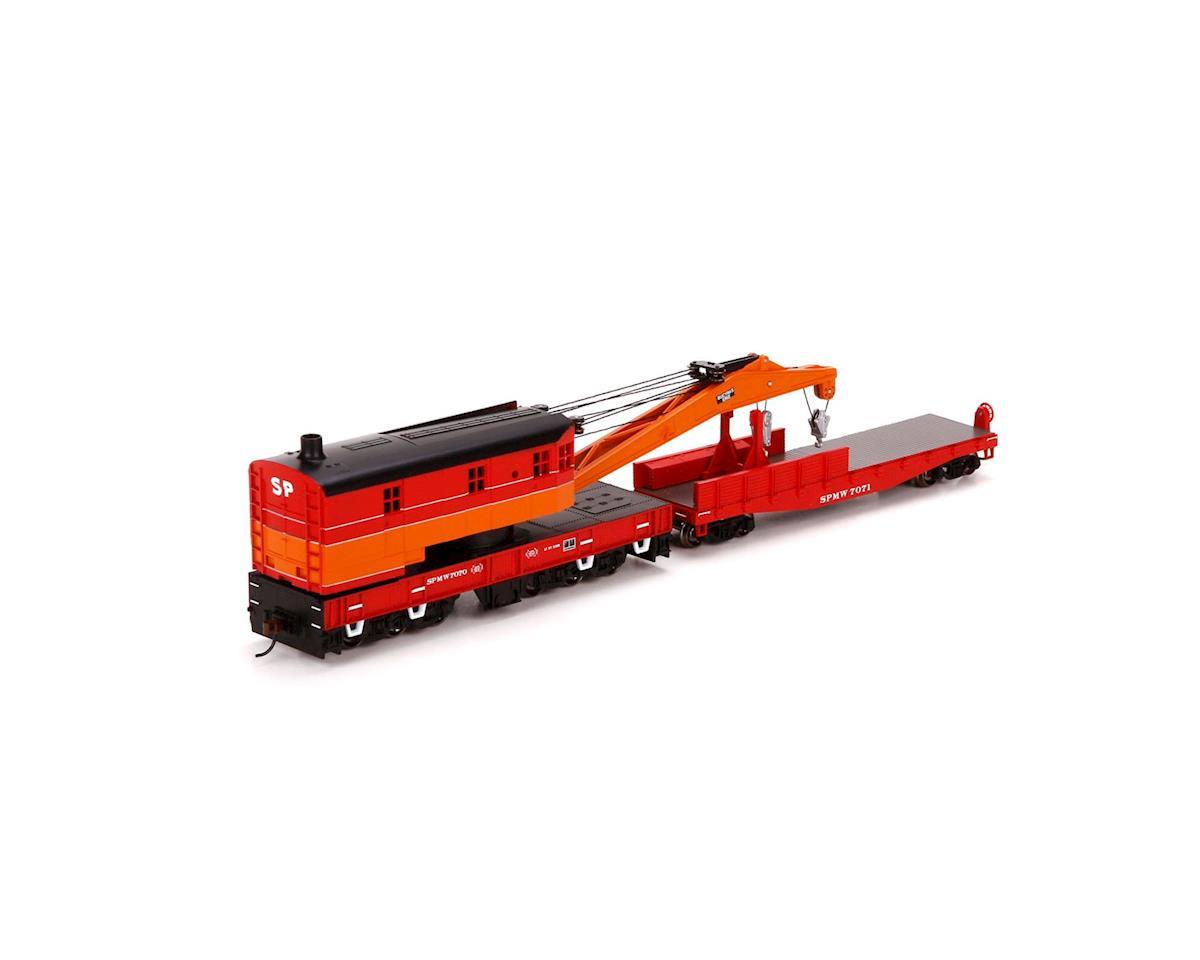 Athearn HO RTR 200-Ton Crane w/Tender, SP