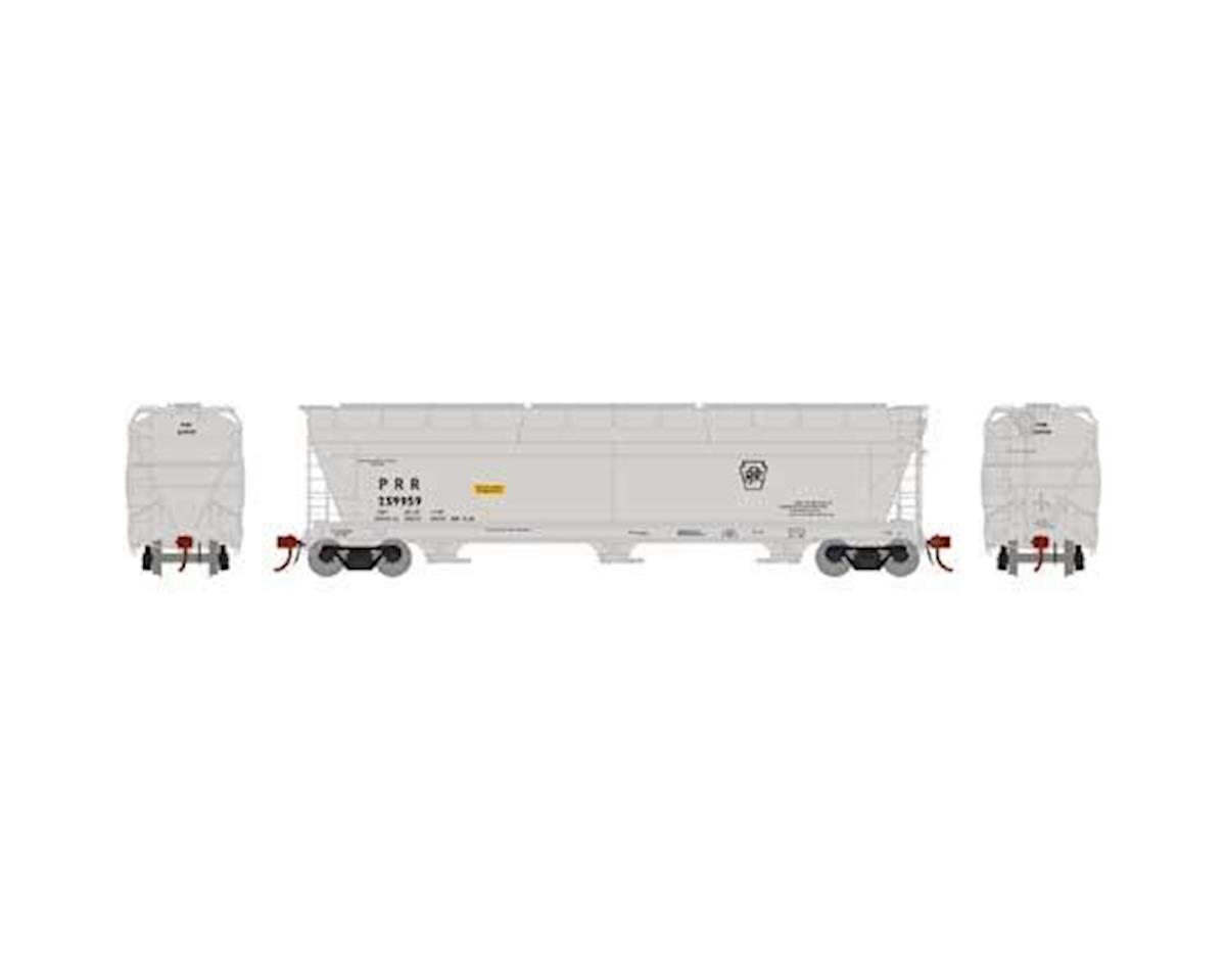 Athearn N ACF 4600 3-Bay Centerflow Hopper, PRR #259959
