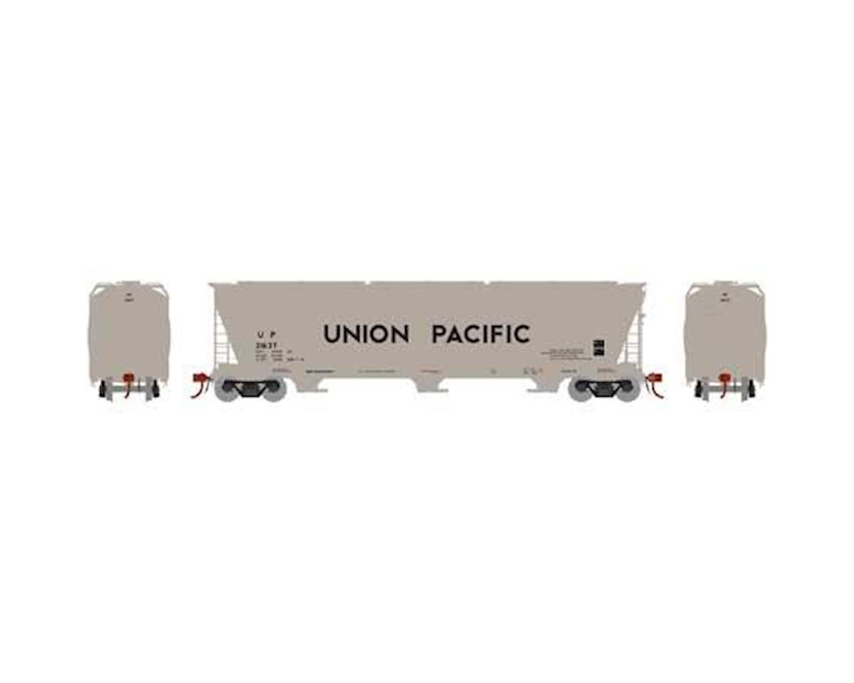 Athearn N ACF 4600 3-Bay Centerflow Hopper, UP #21637