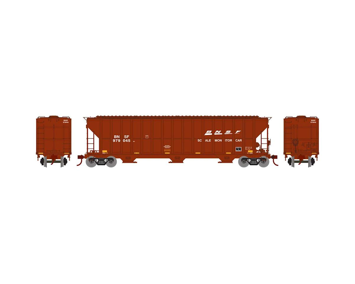 Athearn HO RTR FMC 4700 Covered Hopper, BNSF/Scale #979045