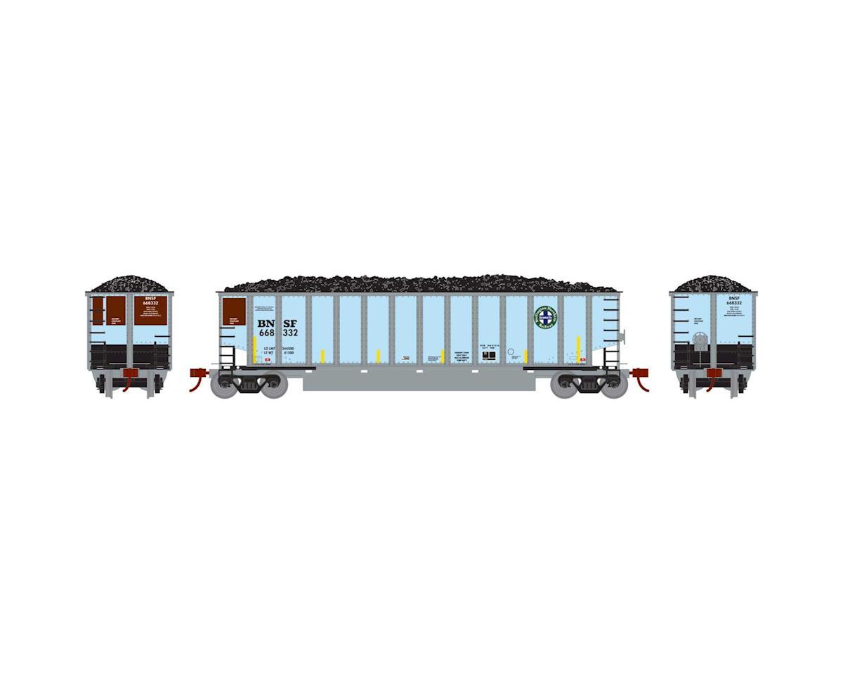 Athearn HO RTR Bethgon Coalporter w/Load, BNSF #668332