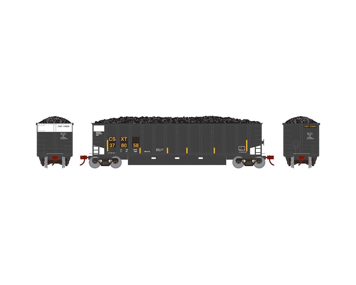 Athearn HO RTR Bethgon Coalporter w/Load, CSX #378058