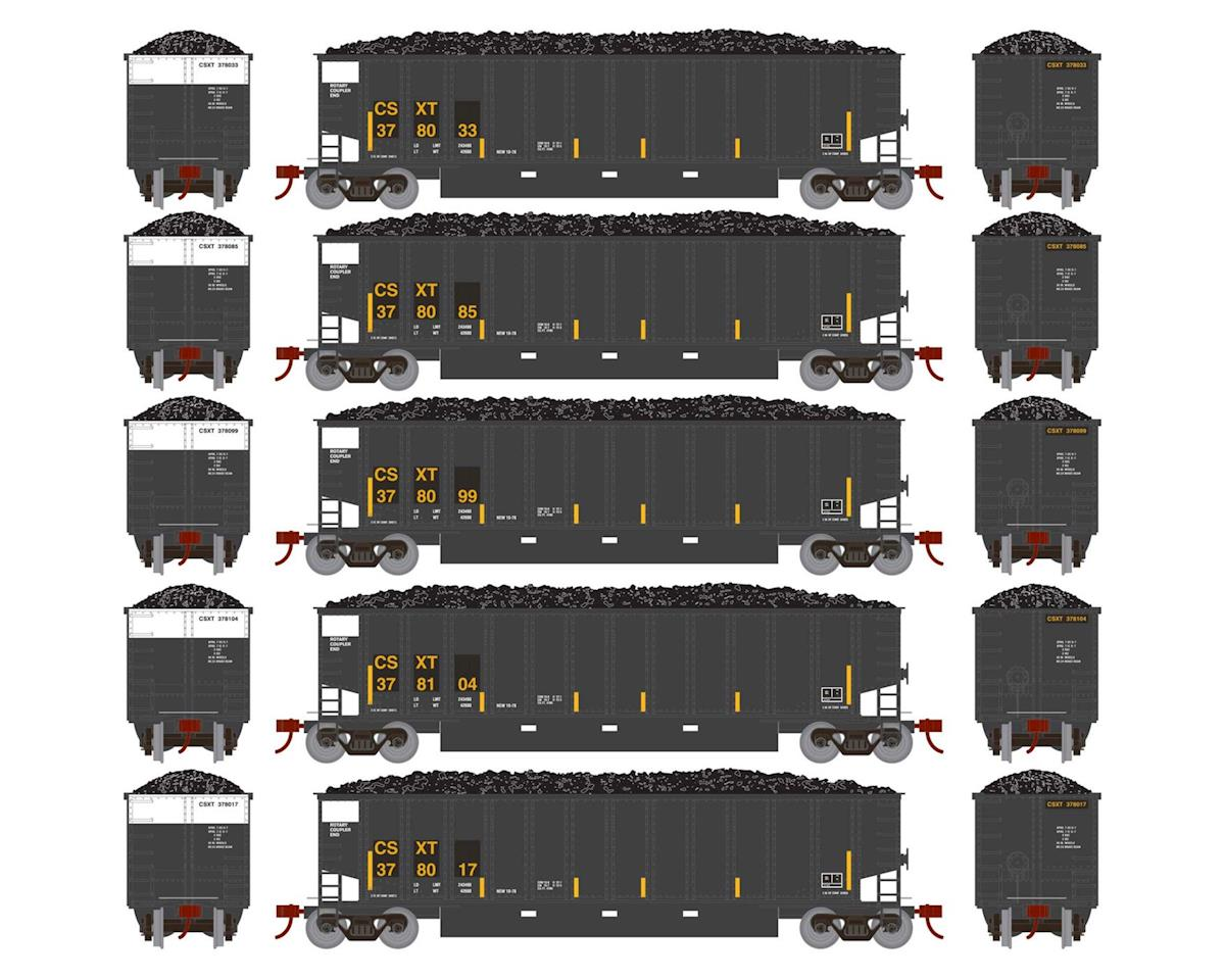 Athearn HO RTR Bethgon Coalporter w/Load, CSX #2 (5)