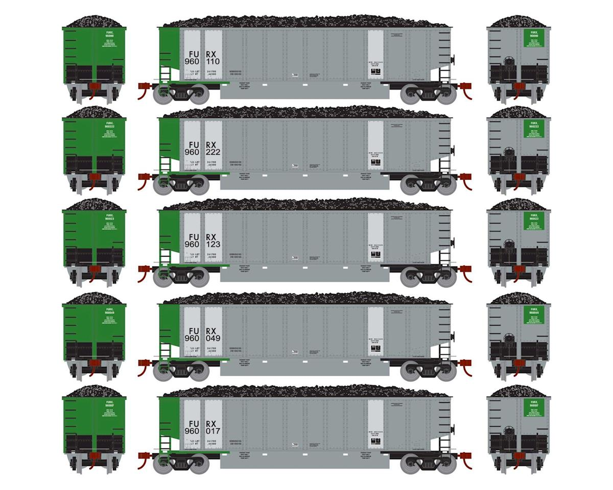 Athearn HO RTR Bethgon Coalporter w/Load, FURX #1 (5)