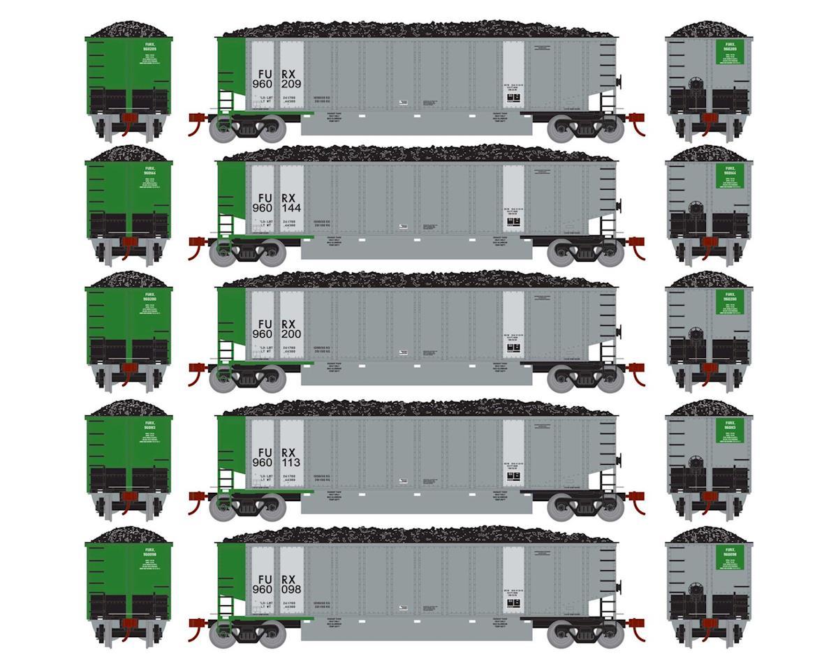 Athearn HO RTR Bethgon Coalporter w/Load, FURX #2 (5)